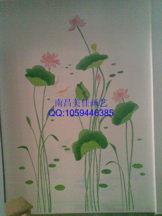 南昌手绘墙彩绘背景墙壁画优质机构供应