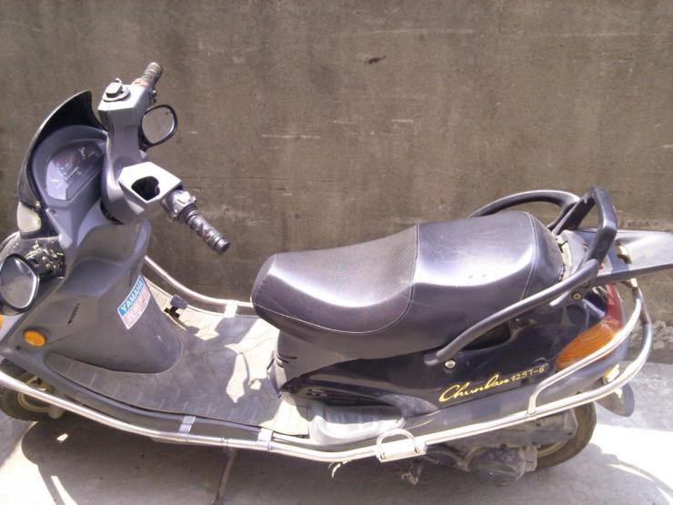 摩托车 踏板/出手春兰巡洋舰踏板125摩托车