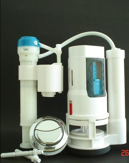 侧面按键放水的马桶内部构造图